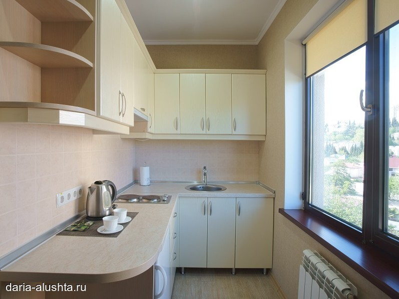 Studio apartments with kitchen
